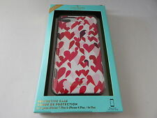 Kate Spade Hardshell Protective Case For iPhone 7 Plus Hearts/Multi-Color New