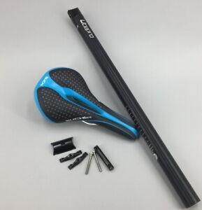 Aluminium Folding Road Bike Seat post Seatpost 33.9*600mm Saddle Seatposts Blue