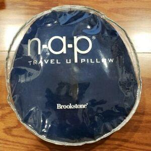 Brookstone NAP Travel U Pillow