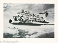 POSTER : ART : PEOPLE ON AIRPLANE   - FREE SHIPPING !  #VEP046   LW11  P