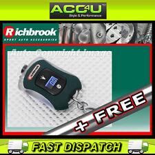 Richbrook Mini coche compacto digital de presión de neumáticos Llavero Calibre & Luz Led + Gratis