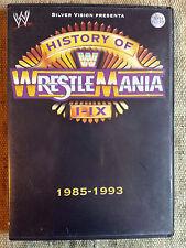 History of WrestleMania I-IX 1985-1993 - dvd in ottime condizioni