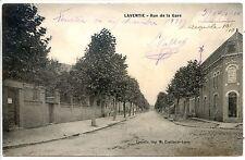 CP 62 - PAS-DE-CALAIS - Laventie - Rue de la Gare b