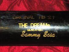 SAMMY SOSA Game Used Bat SOX,CUBS,98 NL MVP