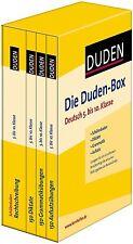 Die Duden Box Deutsch 5. bis 10. Klasse Rechtschreibung Diktate Grammatik NEU