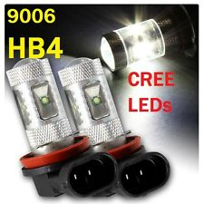 9006 HB4 Super Bright CREE LED Fog Light Bulbs Xenon HID White