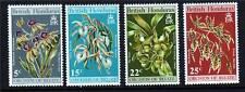 British Honduras 1970 Orchids 2nd series SG 287/90 MNH