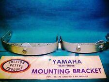 NOS Preston Petty rear fender brackets Yamaha 125 175 Enduro MX 1968-1973