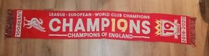 Scarf Liverpool Champions Of England 2020
