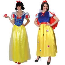 LADIES SNOW PRINCESS COSTUME FAIRY TALE CLASSICAL BOOK WEEK  FANCY DRESS