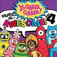 YO GABBA GABBA - MUSIC IS AWESOME 4 NEW CD