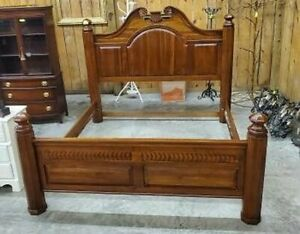 GORGEOUS BOB TIMBERLAKE CHERRY BED LEXINGTON FURNITURE KING SIZE
