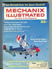 Mechanix Illustrated Magazine May 1968 Vertical Take-Off Airliners 061317nonjhe