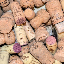 50 Korken Flaschenstopfen Wein Kork Korkstopfen Basteln Naturkork Deko