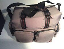 Kalimar  Camera Bag Grey Canvas Handle & Shoulder strap