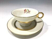Theodore Haviland New York Hollywood Pattern Tea Cup And Saucer