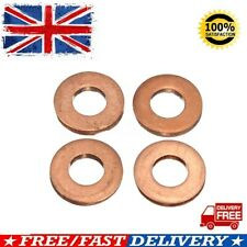 4x Common Injector Nozzle Washer Seal Copper For Ford Transit MK7 2.2/2.4/3.2 TD
