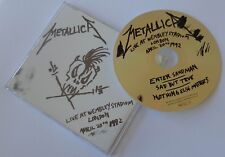 "♪♪ METALLICA ""Enter sandman - Live Wembley"" Maxi CD single (UK press) ♪♪"