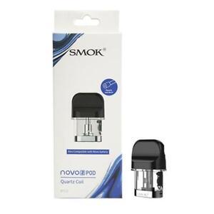 SMOK Novo 2 Pod Quartz coil 1.4Ω Pack Of 3 TPD Compliant
