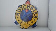 Plaque en tôle HOTCHKISS 26 X 21 Cm Neuve