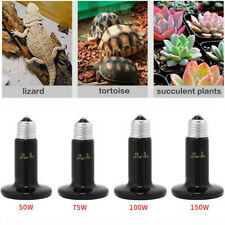 Pet Reptile Breed Ceramic Heat Emitter Heater Light Brooder Lamp Heat Bulb Hot