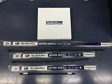 2006-2007 Subaru Tribeca Front & Rear Windshield Wiper Blade Refill Set Genuine