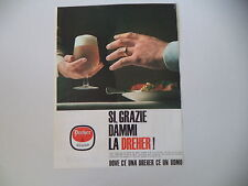 advertising Pubblicità 1966 BIRRA BEER DREHER