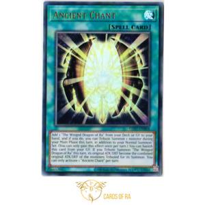 Yu-Gi-Oh!   Ancient Chant   LED7-EN004   Ultra Rare