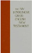 NIV Interlinear Greek-English New Testament. NEUF