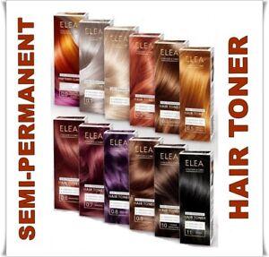 ELEA SEMI-PERMANENT HAIR TONER PEROXIDE /  AMMONIA FREE 100 ml
