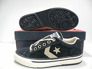 CONVERSE VICEROY AS VINTAGE UNISEX MEN SIZE 7.5 = WOMEN SIZE 9.5 SHOES NAVY NEW