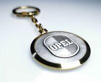Schlüsselanhänger OPEL Logo Metall Anhänger Diamantschliff original aus 1959