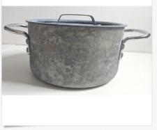 Vintage Commercial Aluminum Pre Calphalon 8702 1/2 Sauce Pan 2 1/2 Stock Pot Lid