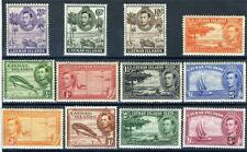 CAYMAN ISLANDS SCOTT# 100-11 SG# 115-26 NO 120a 121a MINT NH/LH AS SHOWN