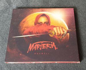 CD   MARTERIA    Roswell   Limited Digipack Edition   gebraucht, guter Zustand