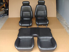 00-02 Trans Am WS6 Ebony Leather Seats Front and Rear 052217
