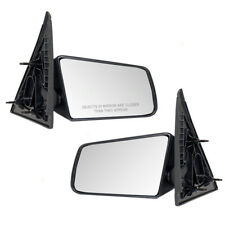 94-04 S10 Sonoma Pickup Truck Set of Side View Manual Standard Type Mirrors
