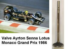 AYRTON SENNA VALVE LOTUS MONACO 1986 (1 PIÈCE)USED IN AN ENGINE IN  MONACO RARE
