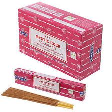 MYSTIC ROSE von Satya BIG PACK 12 x 15 g Räucherstäbchen Agarbathi
