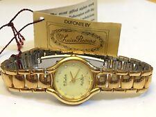 Vintage Dufonte by Lucien Piccard Women's  Gold  Tone Quartz Watch (DP-198QK)