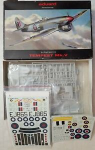 1997 EDUARD 8021 HAWKER TEMPEST Mk.V - 1/48 SCALE KIT w/AEROMASTER 48-330 DECALS