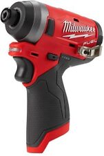Milwaukee 2553-20 M12 FUEL 12V Li-Ion Brushless 1/4 Hex Cordless Impact Driver