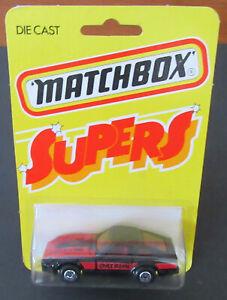 """Lesney Matchbox 24 Datsun 280 ZX RARE """"SUPERS"""" card Datto Japan JDM Hong Kong"""
