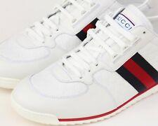 FRESH Gucci SL 73 Guccissima White Embossed Leather Sneaker Sz 10 - US 11