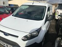 2014 14 FORD TRANSIT CONNECT 1.6 TDCI 210 LWB NO VAT DIESEL spares or repair