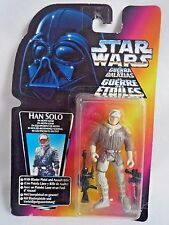 STAR WARS THE POWER OF THE FORCE HAN SOLO IN HOTH GEAR WITH BLASTER & ASSAULT