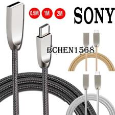 Braided Type C USB-C Charging Phone Data Sync Charger Cable For Sony Xperia L1