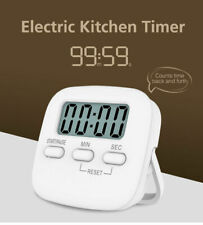Magnetic Digital Kitchen Cooking Timer 99 Minute Egg Count Down with LCD Display