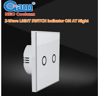 Z Wave Wireless Smart Touch Remote Control Wall Light Switch