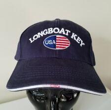 New listing Longboat Key Florida Usa Flag Beach Vintage Baseball Embroidered travel hat cap